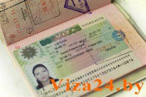шенгенская литовская виза